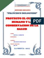 Proyecto El Cuerpo Humano y La Coservacion de La Salud