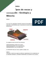Roca Tipo y Mineria