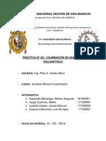 Informe Calibracion 2018 1