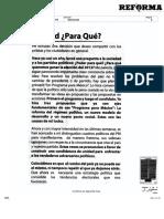 Manlio Fabio Beltrones- Unidad ¿para qué?