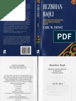 Rūzbihān Baqlī - Mysticism and the Rhetoric of Sainthood