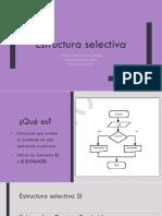 Estructura selectiva