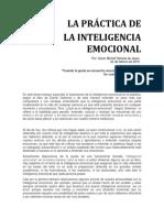 Ensayo La Practica de La Inteligencia Emocional