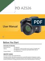 Manual AZ526