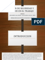 Practica de Plan de Seguridad y Salud en El Trabajo