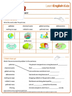 Worksheets Helping the Environment