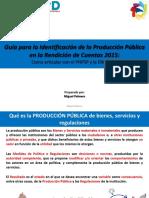 Modelo Para Identificar Produccion Publica MEPyD