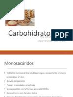 Clase Carbohidratos 2018