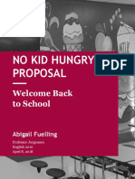 no kid hungry - proposal1