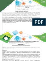 Guíade Actividadesyrúbricadeevaluación–Tarea4–Realizarejerciciostermodinámicaquímicayequilibrioquímico