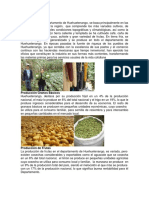 Cultivos de Huehuetenango