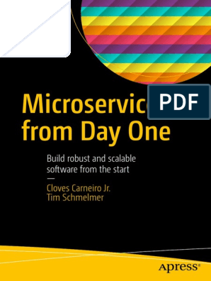 Microservices From Day One   Application Programming