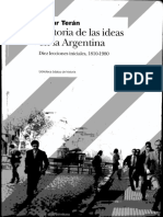 Teran Oscar-Historia de Las Ideas en Argentina-Lección 3