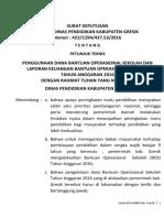 Surat Pemberian Izin Perceraian Edit Docx