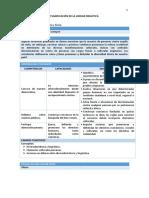 FCC4 - Planificacion Unidad 3 -4to Grado