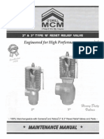 Reset Relief Valve O'Drill
