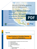 Best Practices Canadian Banking