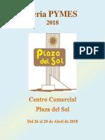 Información General - Feria Pymes Plaza del Sol - Abril 2018