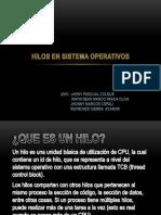 Hilos en Sistema Operativos