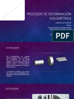 Procesos de Deformación Volumétrica