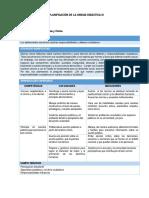 FCC - Planificación Unidad 3 - 3er Grado