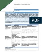 FCC - Planificación Unidad 4 - 3er Grado
