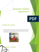 Socialización análisis ergonómico