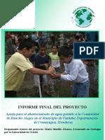 Informe Final Rancho Alegre 2012
