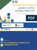 Aplicacion WAIS IV