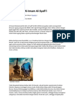 Dr MAZA - Mengenang Al Imam Syafie