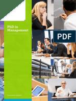 ES PhDInManegement 2017