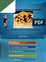 Diapositiva de Historia Del Pensamiento Económico Resumen