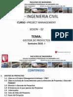Project Management (Dirección de Proyectos)