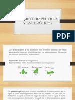 Quimioterapeúticos y antibióticos