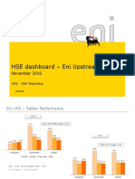 HSE Dashboard Upstream November 2016