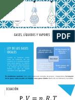 Gas Líquidos y Vapores