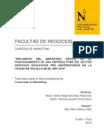 Diaz Palomino Karla Alejandra - Torrel Silva Patricia Judyht - Parcial