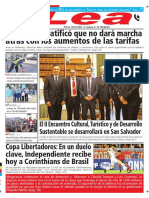 Periódico Lea Miércoles 18 de Abril Del 2018