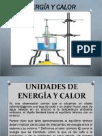 Unidades de Energía y Calor