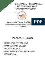 Aplikasi Bundels Central Vena Line