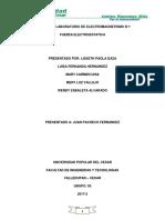 Informe de Lab. Electromagnetismo 1