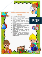 PERFIL DE ESTUDIANTE DE EDUCACION INICIAL