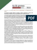 Programa de Depuración de aguas en el Parque Natural Arribes del Duero, 2010