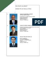 Senarai Jemaah Menteri Malaysia