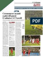 La Provincia Di Cremona 18-04-2018 - Resiste e Lotta