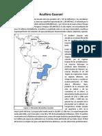 Acuíferos Guaraní y Edwards