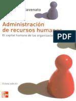 administración de los recursos humanos caracteristicas.pdf