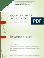 6ta Clase - Comparecencia Al Proceso.