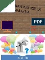 Pendidikan Inklusif Di Malaysia