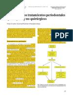 2. Revisión de Los Tratamientos Periodontales Quirúrgicos y No Quirúrgicos. CLAFFEY, POLYZOIS, ZIAKA. Periodontology 2000, 2005